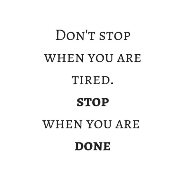 Don't stop when you are tired.stopwhen witheveryheartbeatmunich iifym ernährung fitness frauen krafttraining