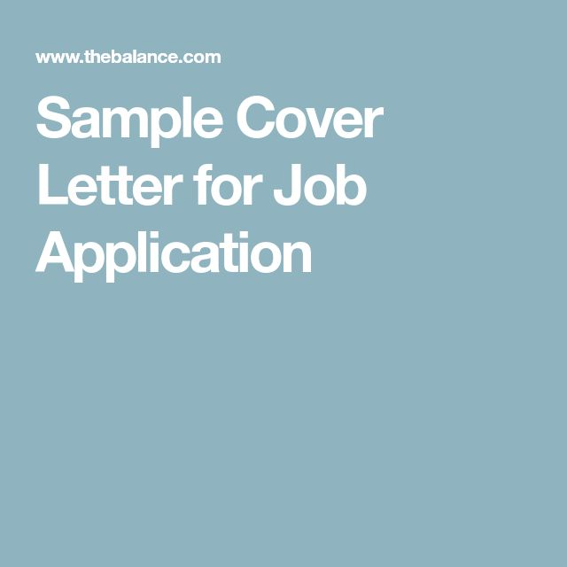The 25+ best Cover letter for job ideas on Pinterest Resume - cover letters for jobs