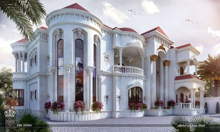 Beautiful Mansion Designs New Home Designs Latest Modern: New-Classic Villa In LEBANON