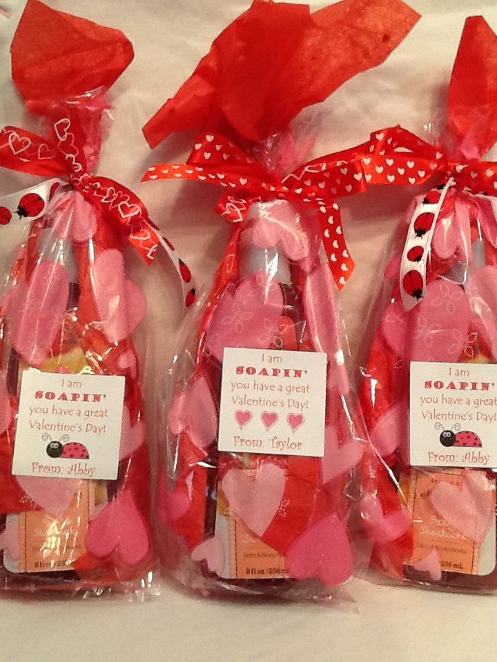 Valentine idea for teacher i am soapin you have a great for Great gift ideas for valentines day