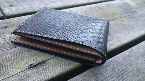 Check out this item in my Etsy shop https://www.etsy.com/nl/listing/472288131/anaconda-snake-reptile-embossed-leather