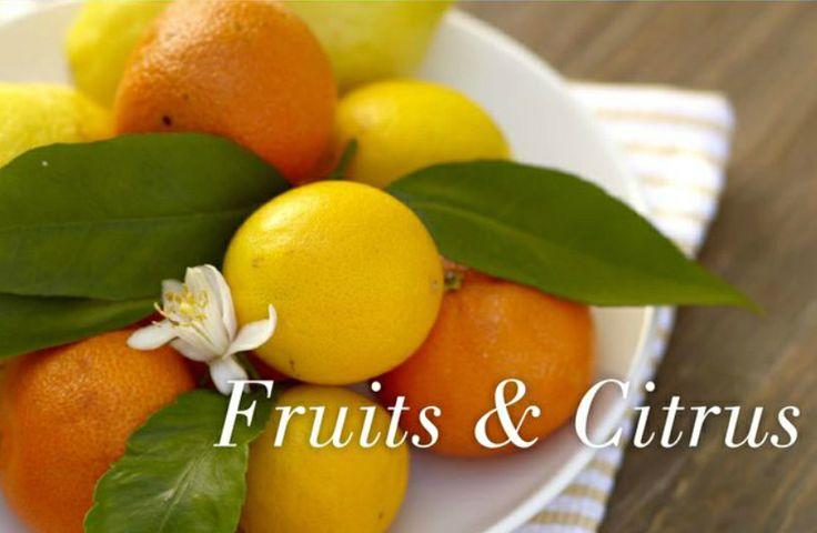 20 delicious fruits and citrus fragrances! #PartyLite #candles