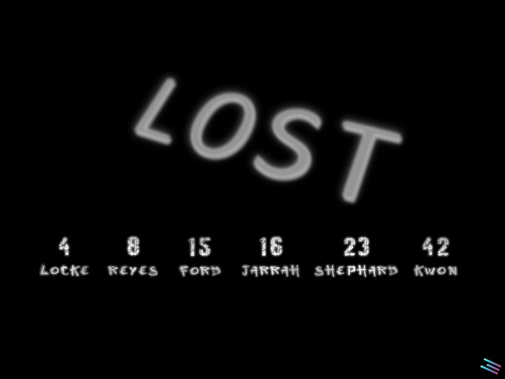 Lost - Numbers