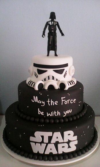 Bolo Cenográfico Star Wars!!! Aluguel