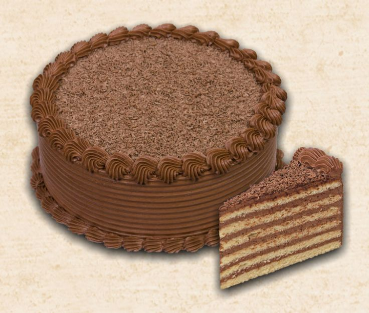Ugyanúgy készül, mint a dobostorta, csak a tetejét nem karamellel vonjuk be, hanem csokoládékrémmel, és kakaóporral hintjük meg. Hozzávalók  20