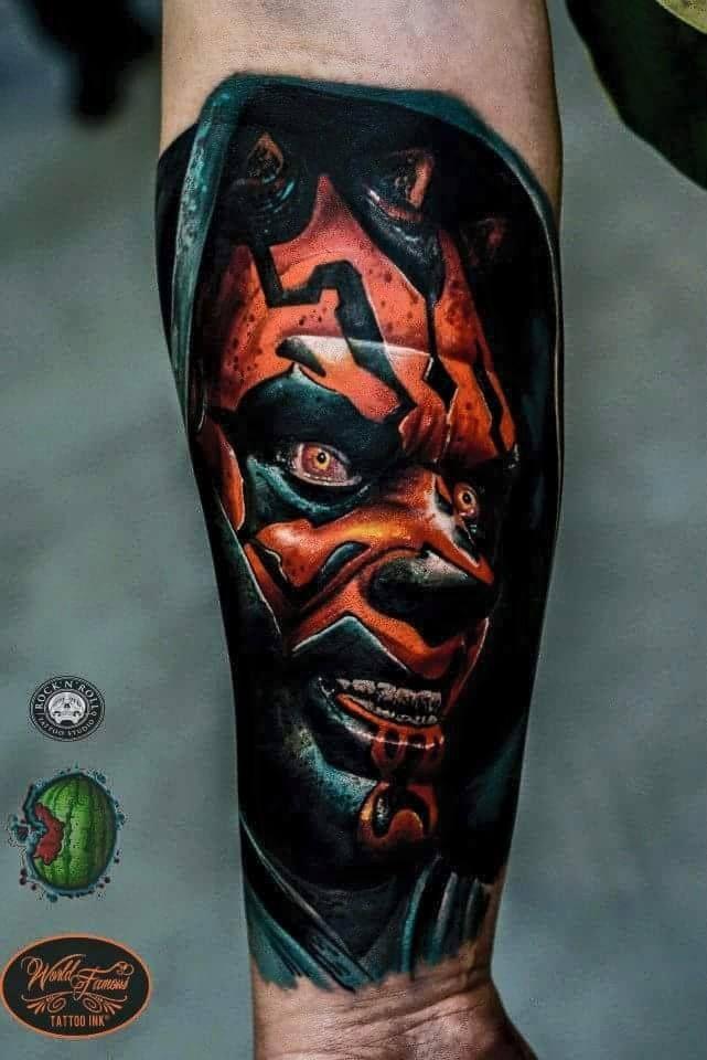 Darth Maul Tattoo by Dero Melancia   Awesome Tattoos For ...