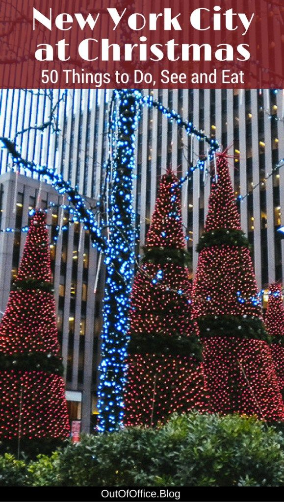 50 Things To Do in New York City at Christmas | journey | Pinterest ...