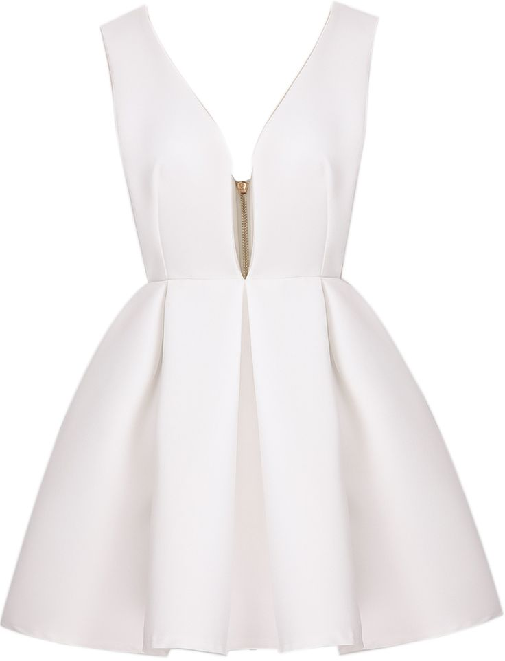 Shop White V Neck Backless Midriff Flare Dress online. Sheinside offers White V Neck Backless Midriff Flare Dress & more to fit your fashionable needs. Free Shipping Worldwide!