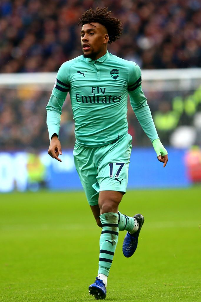 Alex Iwobi Of Arsenal During The Premier League Match Between West Premier League Matches Premier League Arsenal Players