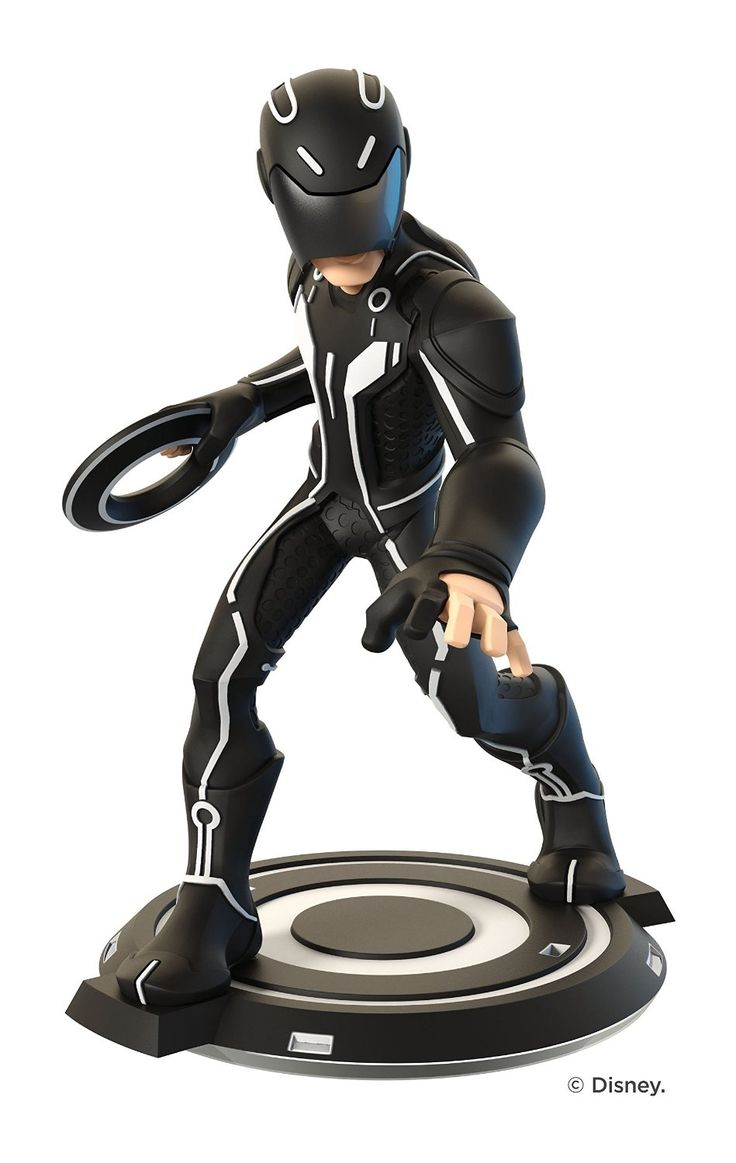 Sam Flynn Disney Infinity: Tron (3.0 Edition) Figure - Sam Flynn figure allows you to access play sets and experience the adventures of Disney Infinity 3.0 Edition. Utilize your Identity Disc to take down foes. Start an original adventure that's of your own creation. All-new characters and powers for nearly endless game play. Join forces with heroes and characters from previous editions of Disney Infinity, including Marvel, Disney and Disney-Pixar characters.
