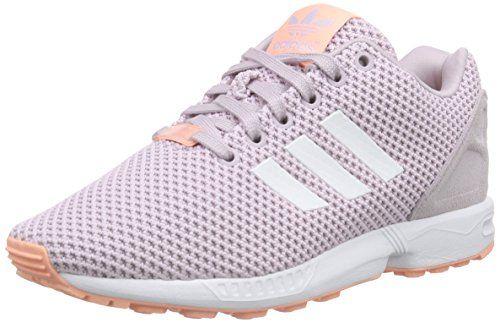 adidas Damen ZX Flux Sneakers, Pink (Mauve F15-St/Ftwr White/Glow Coral S14), 40 EU - http://on-line-kaufen.de/adidas/40-eu-adidas-zx-flux-damen-sneakers