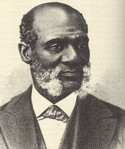"""In 1865, Rev. Henry Highland Garnet, a former slave, became the first black to speak in the Capitol Building in Washington, DC. His sermon was delivered on Sunday, February 12, 1865 within days of Congress's adoption of the 13th Amendment banning slavery.  A number of Republican leaders thought the occasion merited a public religious service to commemorate the event.  They extended the invitation to Rev. Garnet.  His sermon titled, """"Let the Monster Perish,"""" appears in the link."""