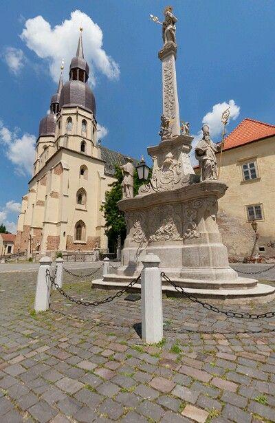 Trnava námestie Sv.Mikuláša, Slovakia