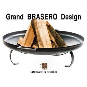 Brasero de jardin Ø 90 cm - brasero design - Fire bowl - Vuurschaal