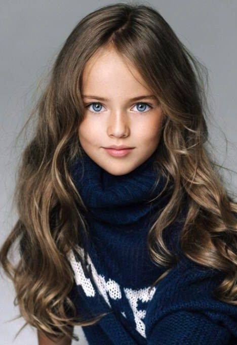 Kristina Pimenova. This little lady is only 9 years old. Such a beautiful girl.
