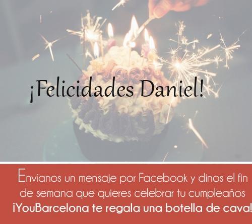 ¡Felicidades Daniel! #YouBarcelona
