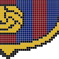 Hama Beads Barcelona, Barça o FC Barcelona Parte 1