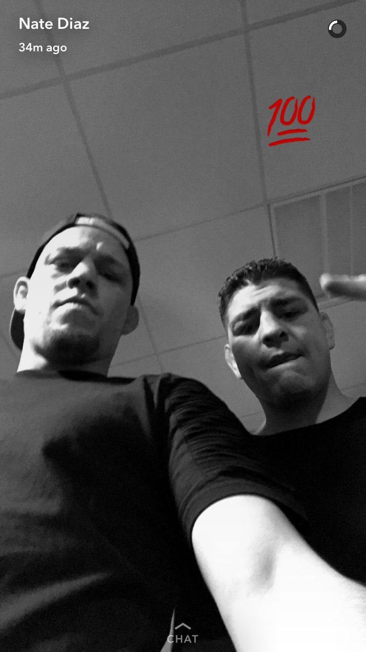 Nate and Nick Diaz #wardiaz #nickdiaz