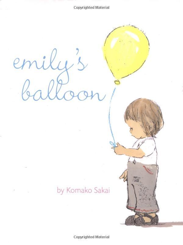 Emily's Balloon by Komako Sakai: So Lovely! Thanks to @Rebecca Silbermann #Kids #Books #Emilys_Balloon #Komako_Sakai