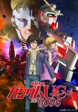 Мобильный воин Гандам: Единорог RE:0096 — Mobile Suit Gundam Unicorn RE:0096 (2016-2017) http://zserials.cc/anime/mobile-suit-gundam-unicorn-re-0096.php  Год выпуска: 2016-2017 Страна: Япония Жанр: аниме, меха, приключения, фантастика Продолжительность:1 сезон Описание Сериала:  Промышленная колония 7, которая находится на стадии строительства, плавает в точке Лагранжа 1. Юноша по имени Банагер, который рос не зная своего отца, встречает таинственную девушку, которая хочет предотвратить…