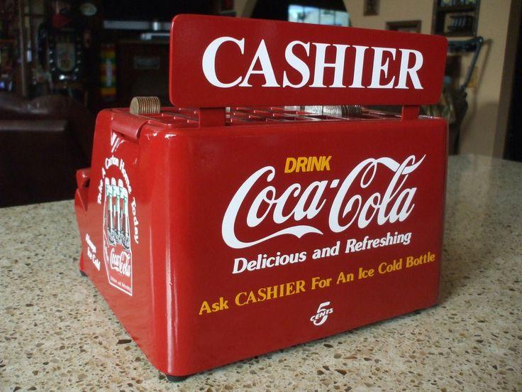 Coca-Cola themed coin changer cash register vending machine arcade change