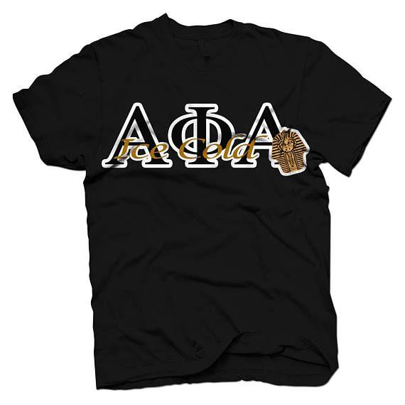 Alpha Phi Alpha Twill-Mascot T-shirt