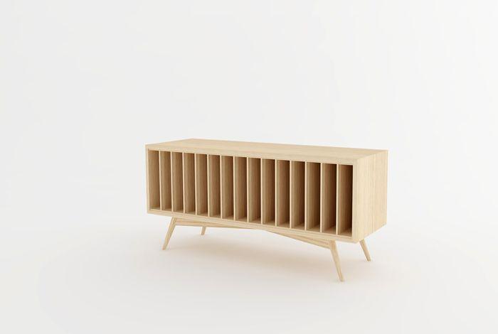 creation sur mesure meuble chene 220 vinyles mrv lc 1e 01 id 233 es rangement des vinyles