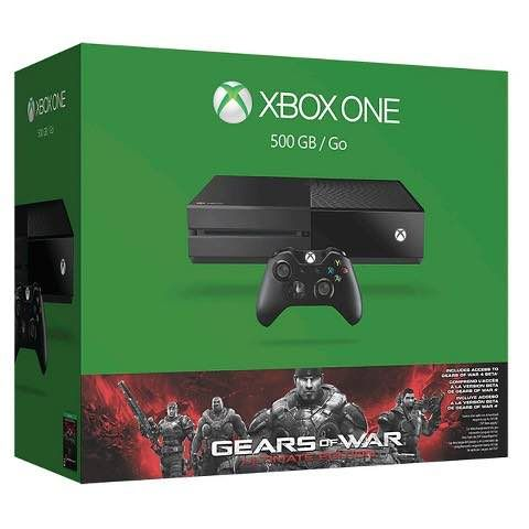 Black Friday Deals are live at Target! Get this Xbox One 500GB Gears Of War Bundle Only $239.99! Normally $349.99! It is on sale for $299.99, plus you'll get a $60 Target gift card when you buy! Grab this deal now!