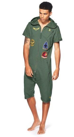 @OnePiece Aviator Short Jumpsuit