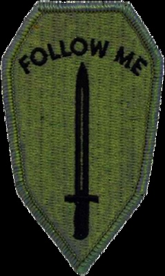 US Army Infantry School House patch...well back before it became the Maneuver Center of Excellence......