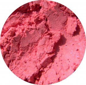 Darling Girl Cosmetics Blush - Virgin. I can't even begin to describe how pretty this blush is. The blue shift is very subtle.