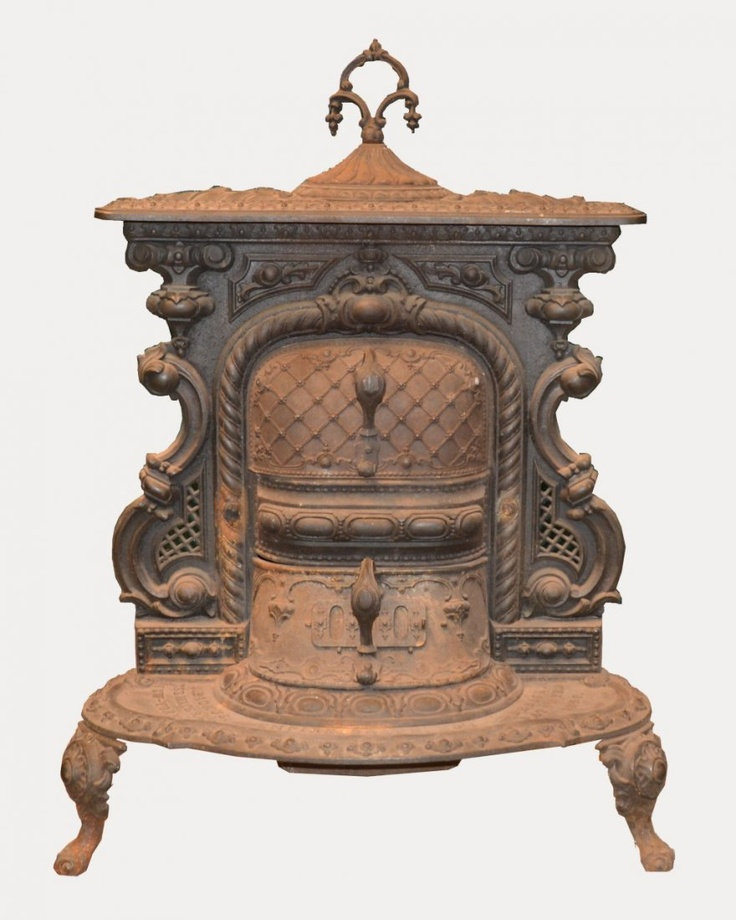 VICTORIAN EMPIRE GRATE NO. 1 CAST IRON PARLOR STOVE, E. Bachus, New - 110 Best Cast Iron & Ceramic Stoves & Acces. Images On Pinterest