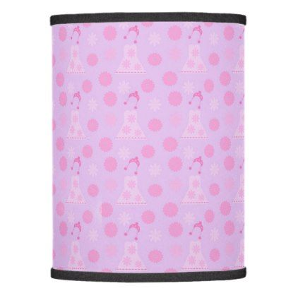 lilac dress lamp shade - home gifts ideas decor special unique custom individual customized individualized