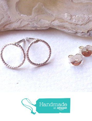 Stud Earrings Minimal Diamond Cut Circle 925 Sterling Silver https://www.amazon.com/dp/B073YRM3WW/ref=hnd_sw_r_pi_dp_Tn1AzbS7GJWPB #handmadeatamazon