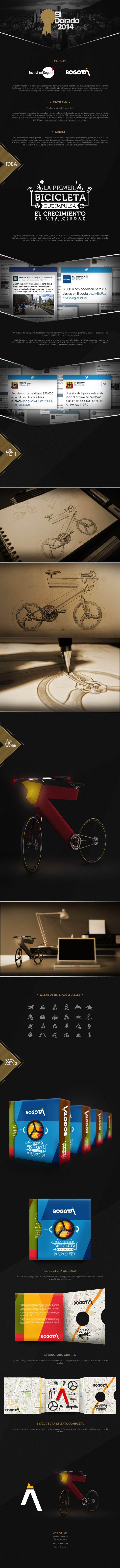 Festival de la publicidad colombiana El Dorado Categoria: Desing