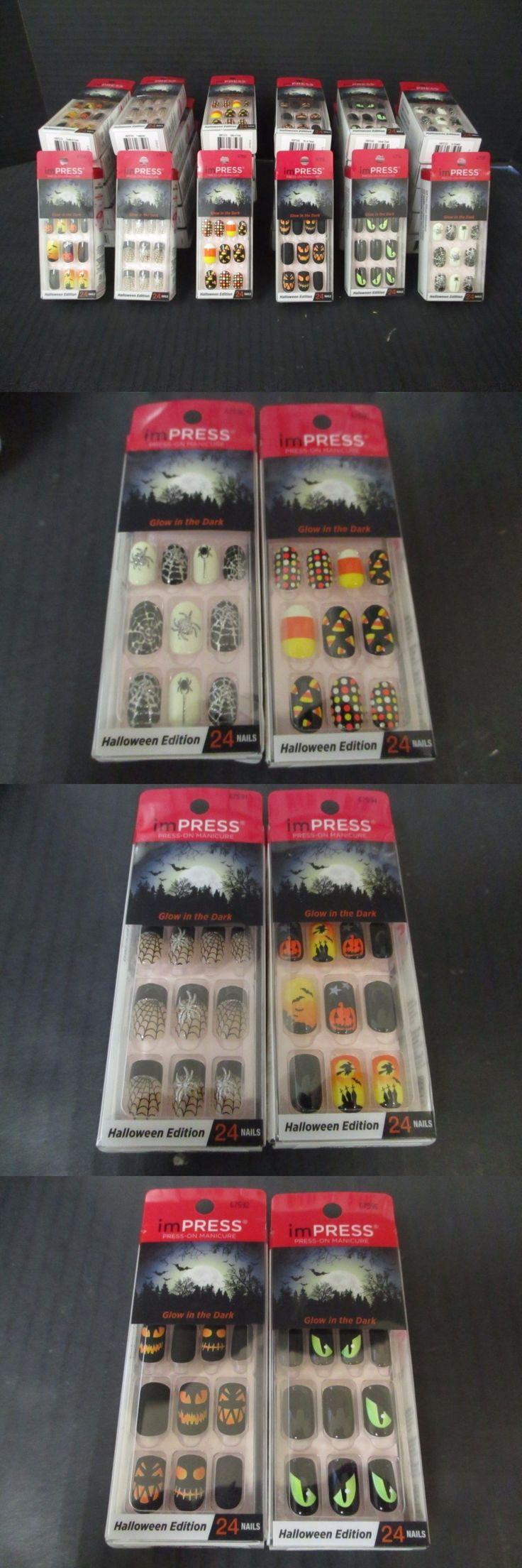 Impress press on manicure nails my style pinterest - Press On Nails 30 Impress Press On Manicure Halloween Edt Sets 6
