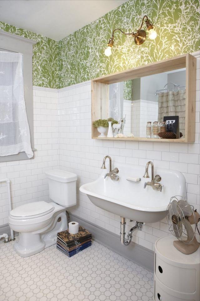 Die besten 25+ Badezimmer tapete Ideen auf Pinterest Tapete für - happy d badezimmer