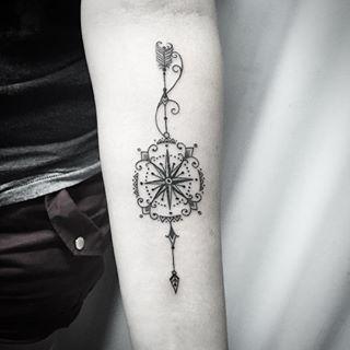 A tattoo de Mariana !!!! Mto obrigado!!! Curti mto fazer a tattoo !!! Contato…