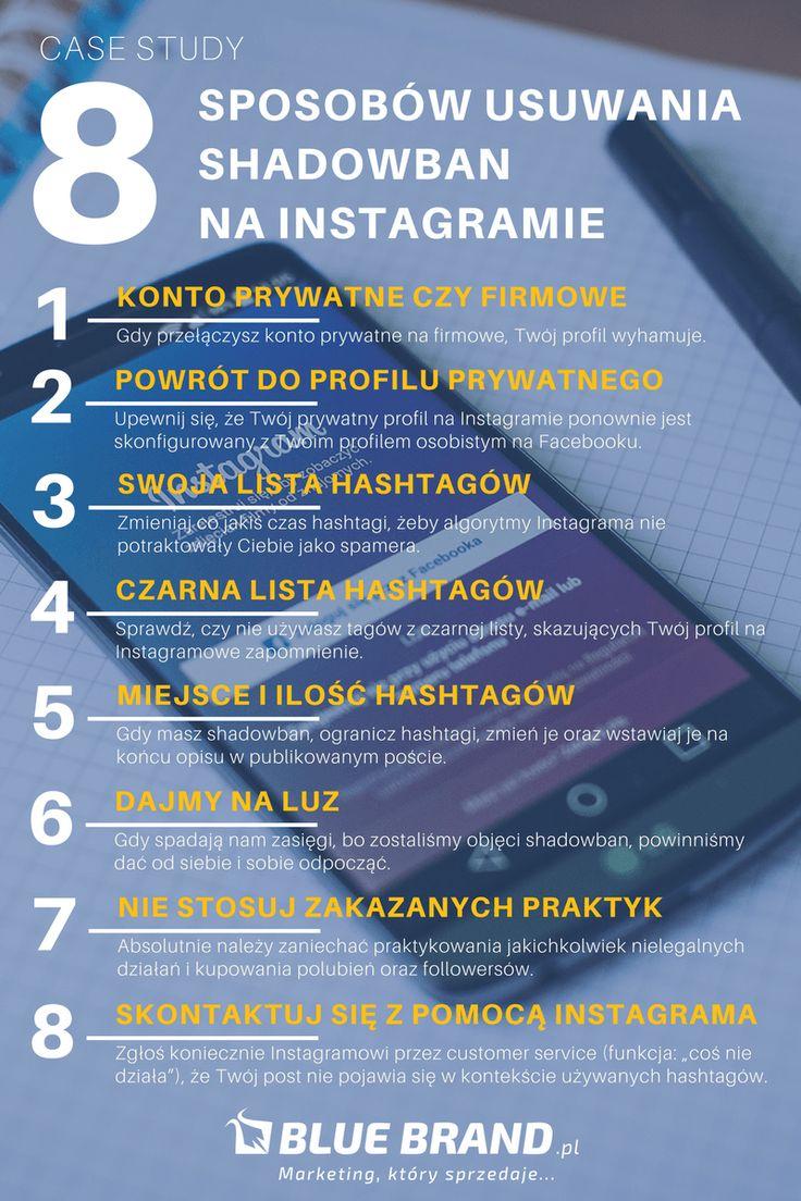 BlueBrand blog Sposoby usuwania shadowban na Instagram