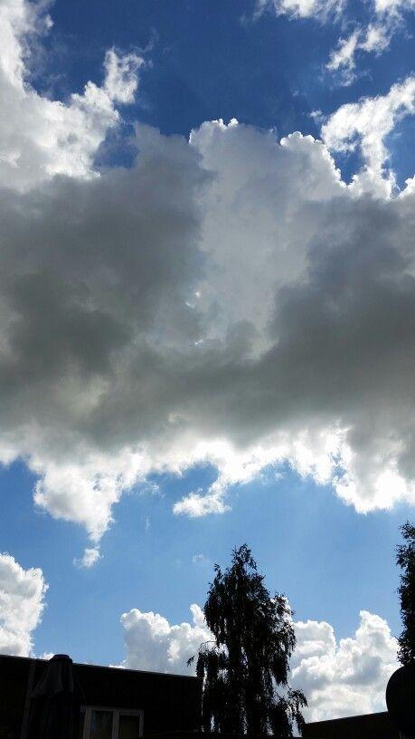 Mooi wolkendek