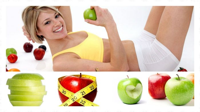 Adelgaza 5 kilos en una semana con la Dieta de la Manzana