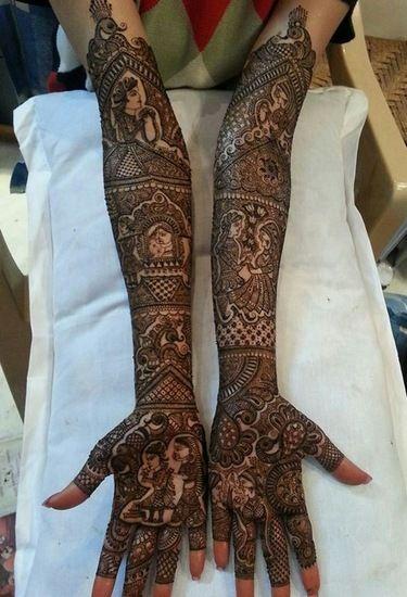 Sriniwasan Mehendi Artist Info & Review | Mehendi Artists in Delhi | Wedmegood #mehendi #wedmegood