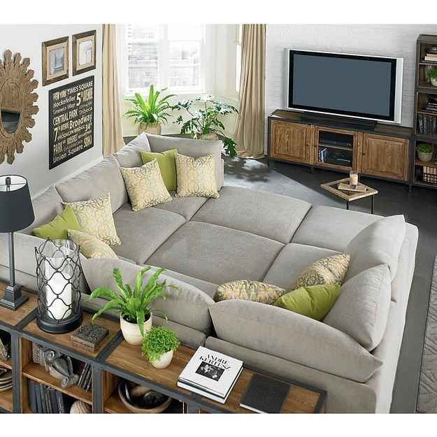 Classic Sectionals | 19 Couches That Ensure You'll Never Leave Your Home Again