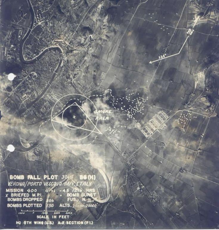Bombe su Verona | Historica Legio - zona stazione Porta Vescovo 4 gennaio 1945