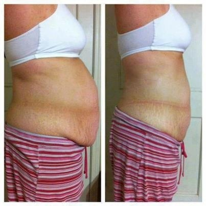 Results! Loose Belly Fat. It Works Body Applicator!