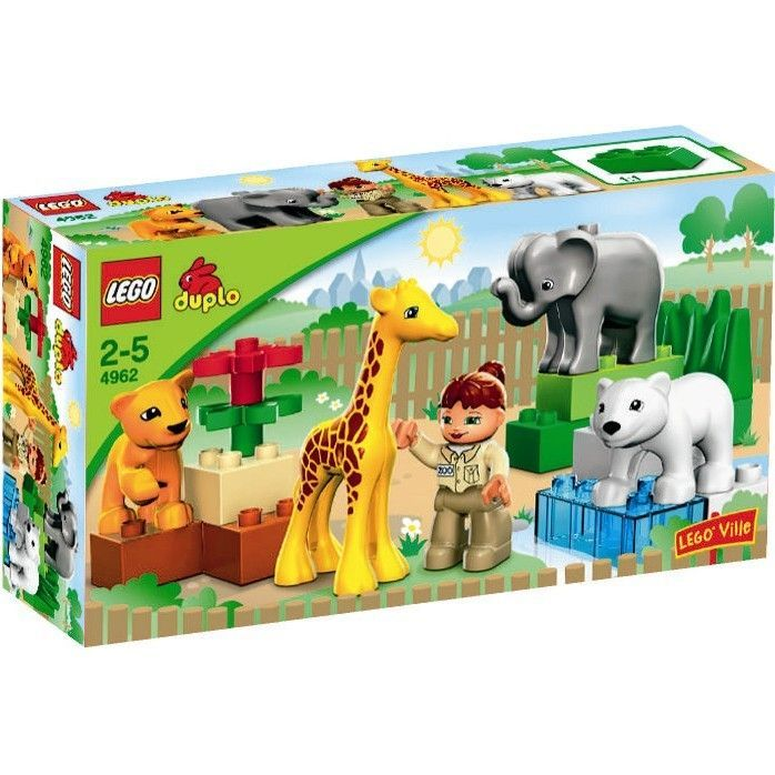 Notice montage lego duplo zoo