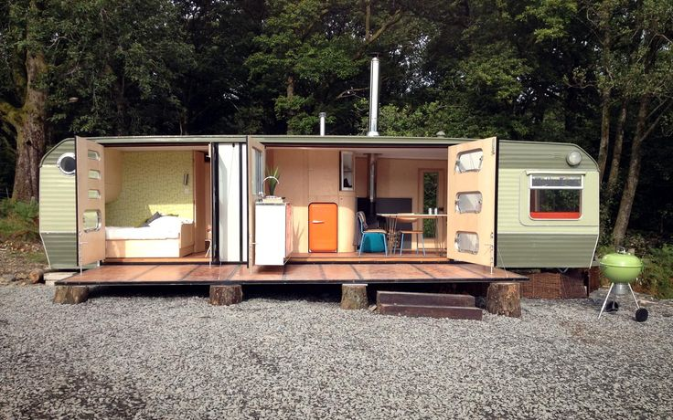 William Hardie Design: Amazing Spaces, Tiny House, Mobiles Home, Clarks Caravan, Vintage Caravan, Google Search, Travel Trailers, Small Spaces, George Clarks