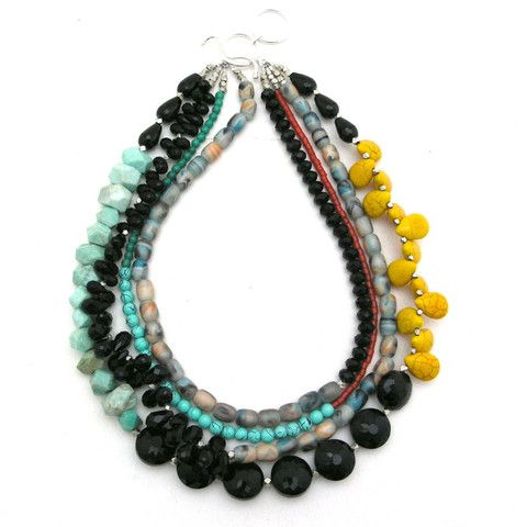 Collected Pieces of the Past necklace by Elva Fields