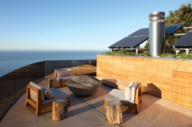 Designed by Mary Ann SchicketanzHouse Design, Living Room Design, Solar Panels, California Home, Home Interiors Design, Sweets Trees, Home Design, Design Home, Ocean View