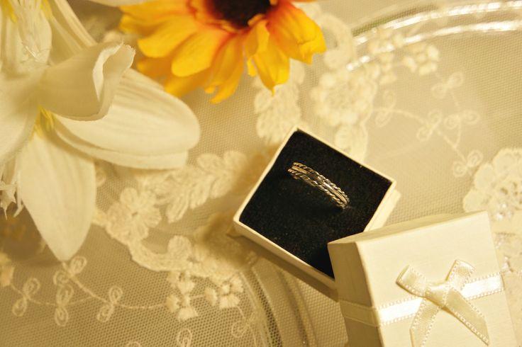 Twist Plain Twist Ring. Sterling Silver.